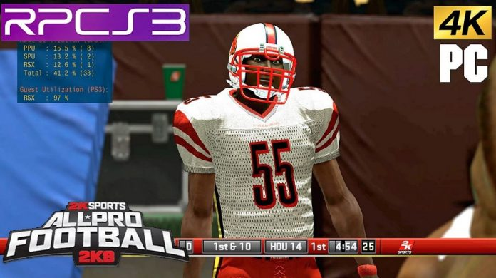 All Pro Football 2k8 Game iOS Latest Version Free Download
