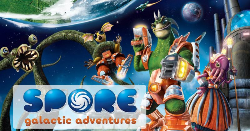 SPORE: Galactic Adventures Full Mobile Game Free Download