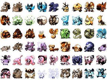 Pixel Artist Recreates All Gen 8 Pokemon in Game Boy Style