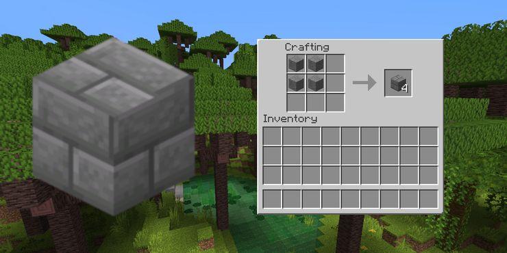 Minecraft: How to Make Stone Bricks