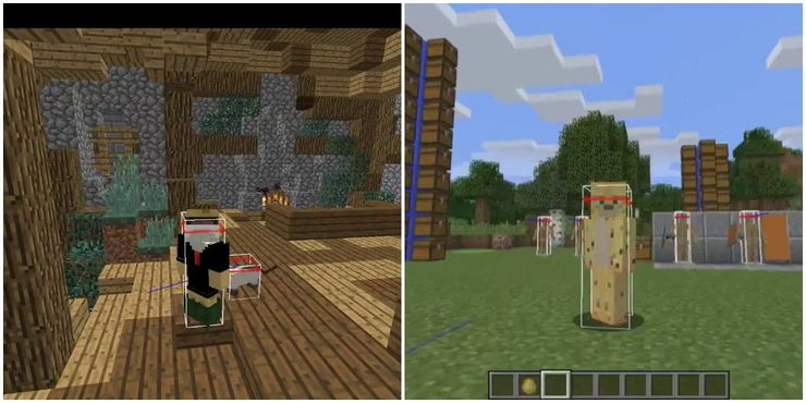 Minecraft: How To Show Hitboxes