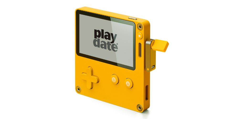 Playdate is an Upcoming Indie Handheld Console