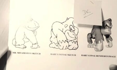 Donkey Kong Country Concept Art Revealed by Former Rare Employee