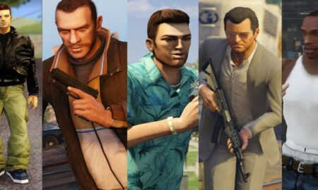 Artist Recreates Grand Theft Auto Protagonists in HD
