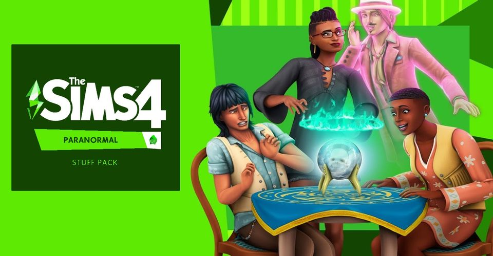 The Sims 4 Paranormal Stuff Pack Has Tons of Gameplay Potential