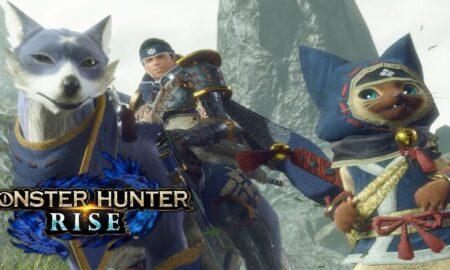 Monster Hunter Rise Palamutes Will React To Hunter Emotes