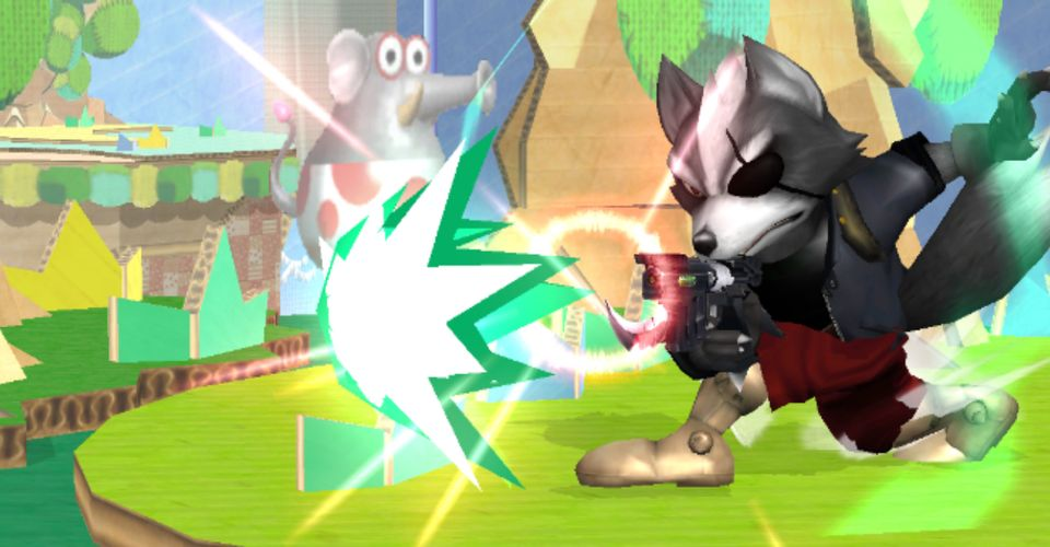 Super Smash Bros. Melee Mod Makes Wolf A Playable Character