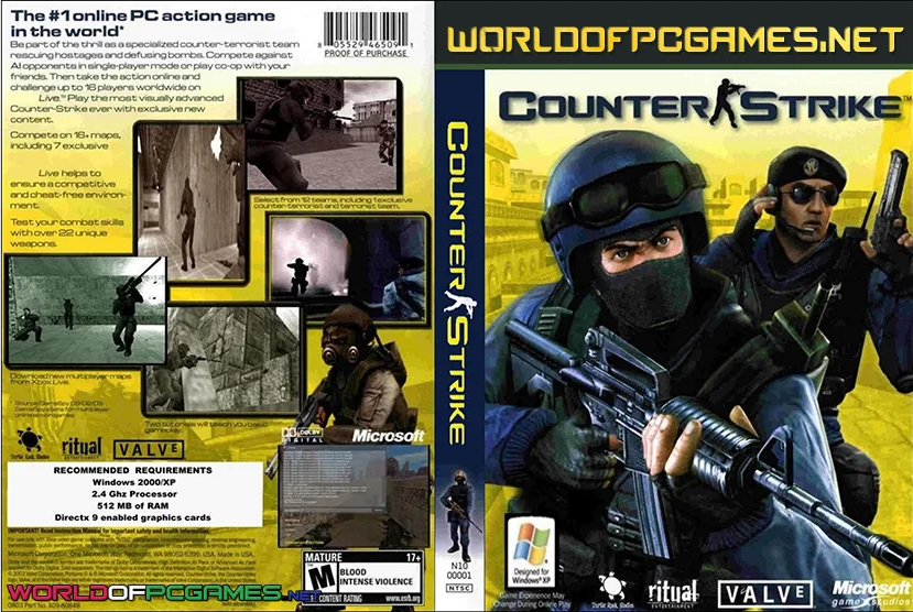 Counter Strike 1.6 APK Full Version Free Download (July 2021)