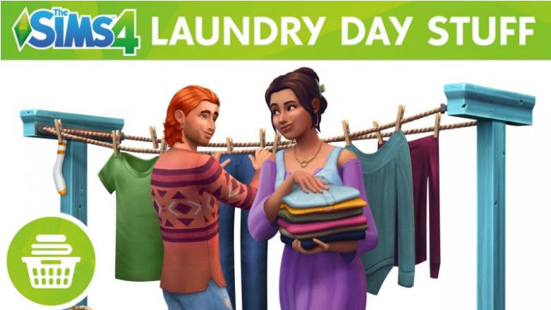 The Sims 4: Laundry Day Stuff PC Download Game for free