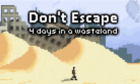 Don't Escape: 4 Days in a Wasteland Game Download