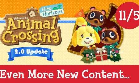 Animal Crossing: New Horizons 2.0 Update & DLC Revealed